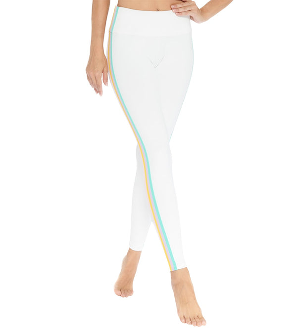 Electric Yoga Elliot Rainbow Stripe Yoga Leggings