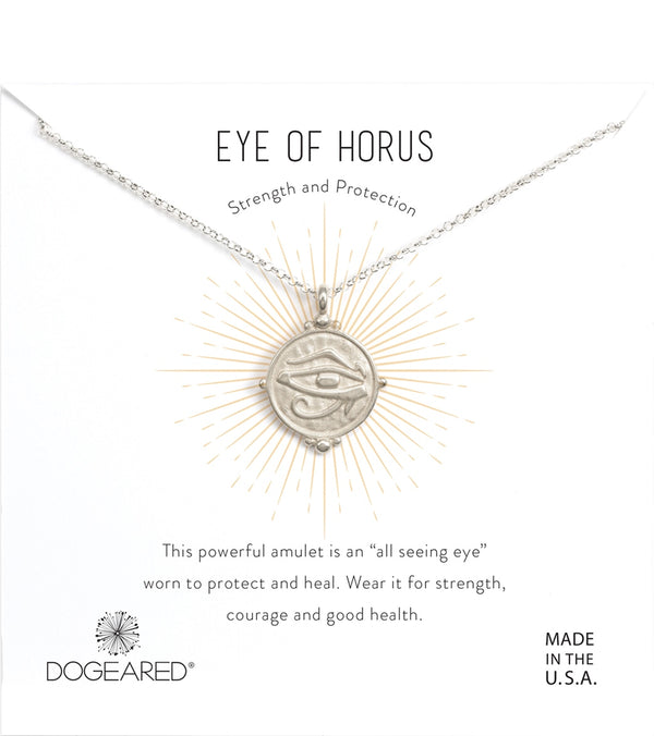 Dogeared Eye of Horus Necklace