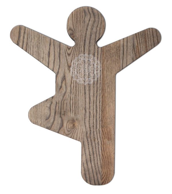 Yummi Yogi Artisan Tree Pose Board