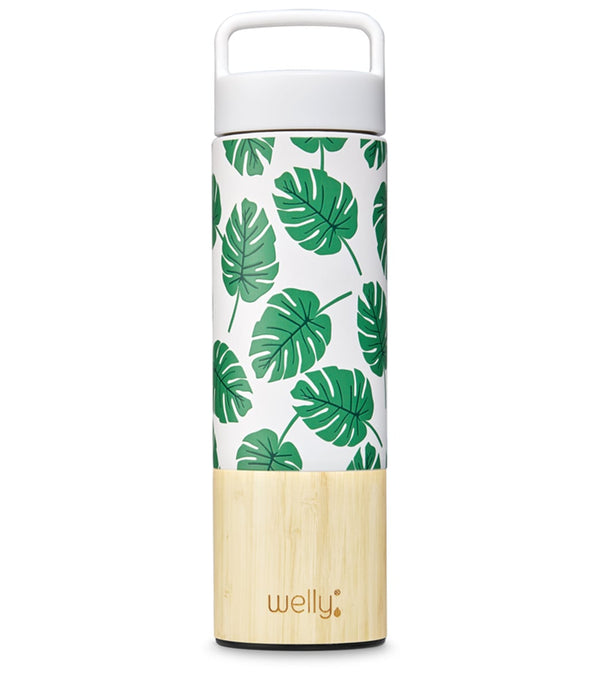 Welly Traveler 18oz -Monstera