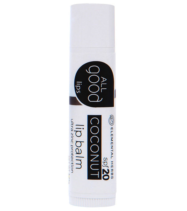 All Good SPF 20 Coconut Lip Balm