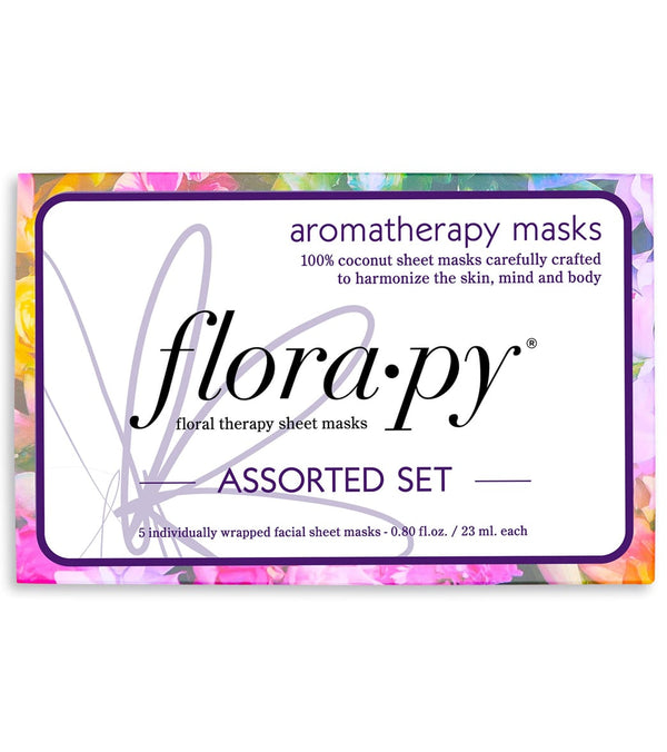Florapy Assorted Sheet Mask Set, 5 Count