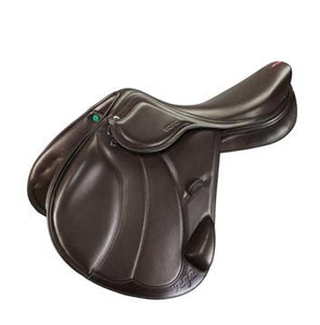 "Amerigo Vega Event Saddle 17"" Oak +1.5 Jump Saddle"