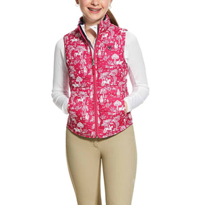 Ariat Girls Emma Reversible Vest Kid's Clothing and Footwear