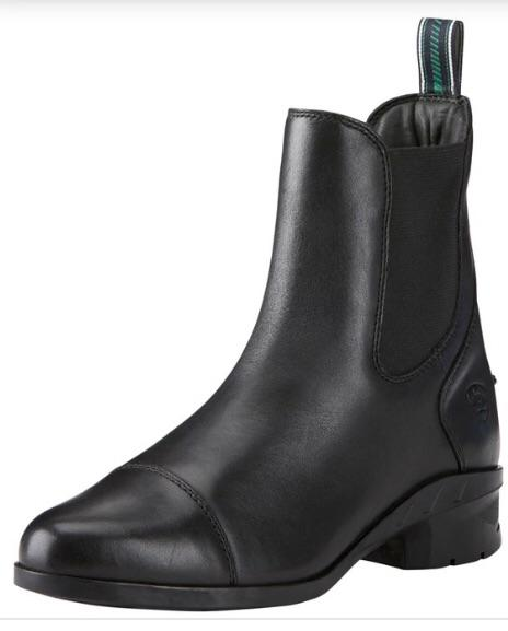 Ariat Heritage IV Ladies Jodhpur Boots - Black Footwear