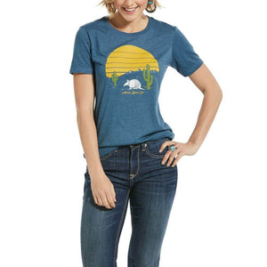 Ariat Women's Armadillo Short Sleeve T-Shirt Casual Clothing