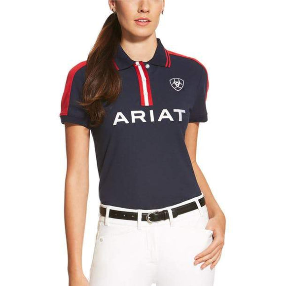 Ariat Women's New Team Polo Casual Clothing