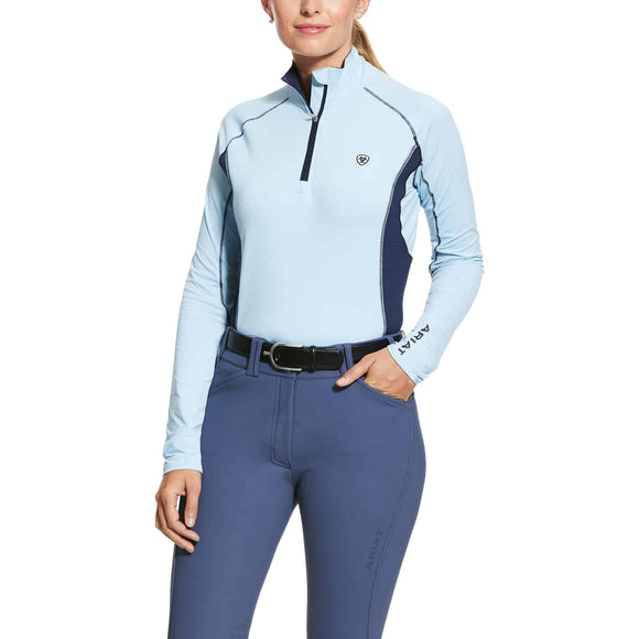 Ariat Women's Tri-Factor 1/2 Zip LS Casual Clothing