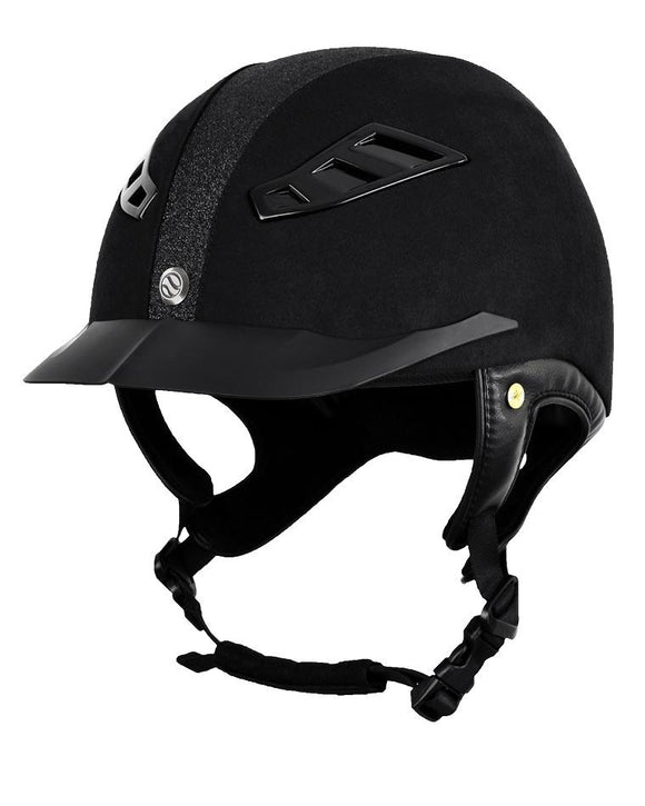 Back On Track EQ3 Lynx Strass Micromocca Helmets