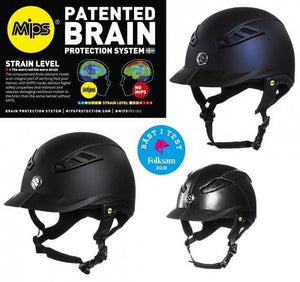 Back on Track EQ3 Lynx Smooth Top Helmet Helmets