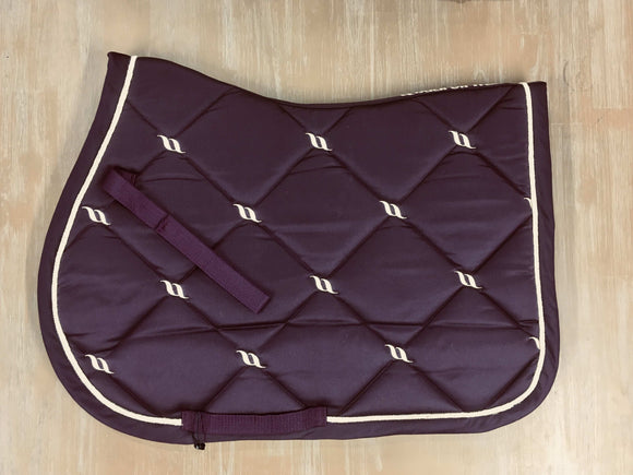 Back on Track Saddle Pad 'Nights Collection' Saddle Blankets & Halfpads/Correction Pads