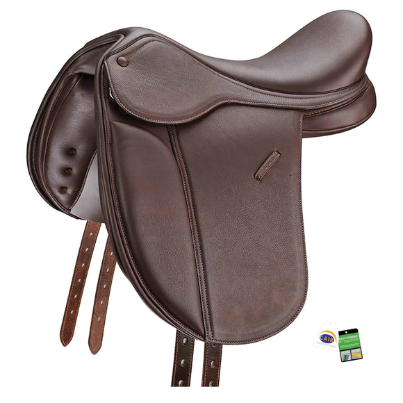 "Bates Pony Show + Saddle 16"" Pony Saddle"
