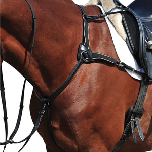 Collegiate Five Point Breastplate Training Aids - Breastplates, Martingales, Running Reins etc.