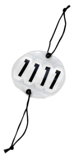 Competition Number Set - 4 Numbers Bridle Accessories