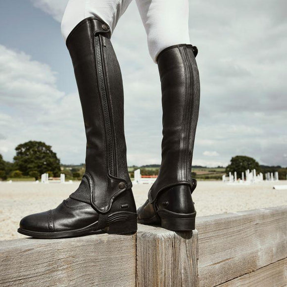 Dublin Evolution Side Zip Half Chaps Footwear
