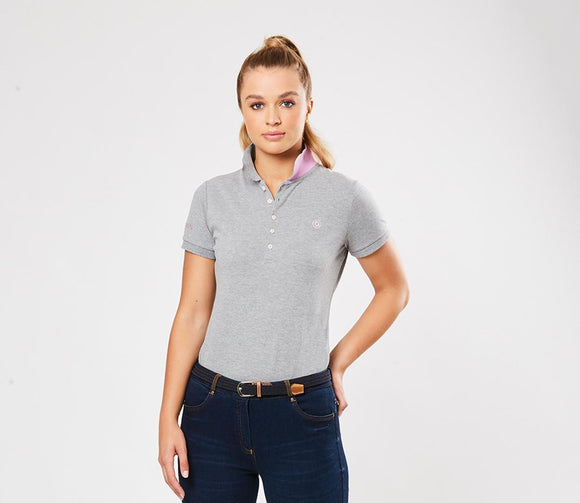 Dublin Lily Cap Sleeve Polo Casual Clothing