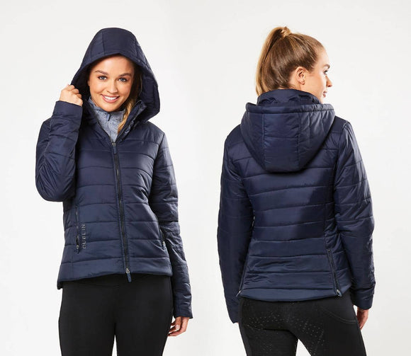 Dublin Nina Puffa Jacket - Navy Casual Clothing