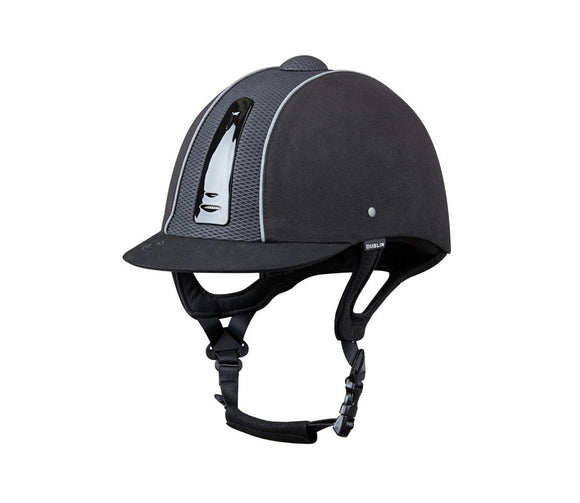 Dublin Silverline Diamond Piped Helmet Helmets