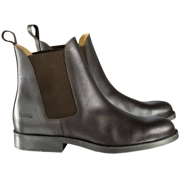 Horze Classic Leather Jodhpur Boots Footwear