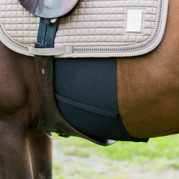 Horze Elastic Belly Guard Training Aids - Breastplates, Martingales, Running Reins etc.