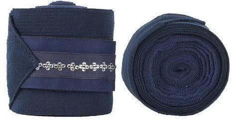 Horze Melrose Combi Bandages - Navy Horse Boots and Bandages