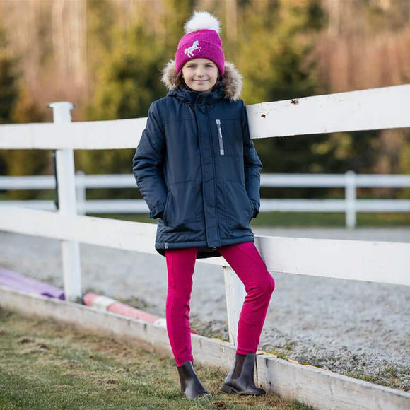 Horze Remy Kids Parka Kids Clothing and Footwear