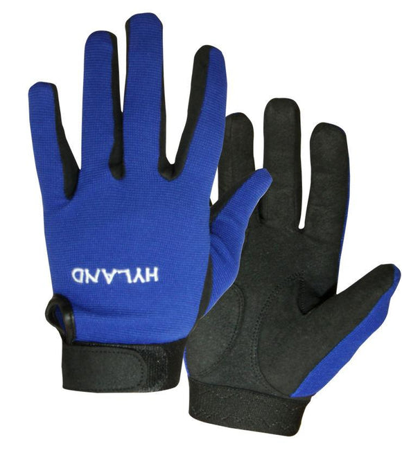 Hyland Gloves Black Racing