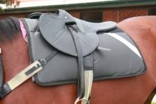 Hyland Track Saddle Pad Racing