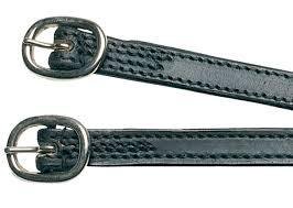 Kincade Stitched Leather Spur Straps Rider Accessories - Stocks/Ties/Hairnets/Spurs etc