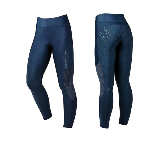 Ladies Dublin 'Gabriella' Thermal Tech Tights Breeches/Tights/Jodhpurs