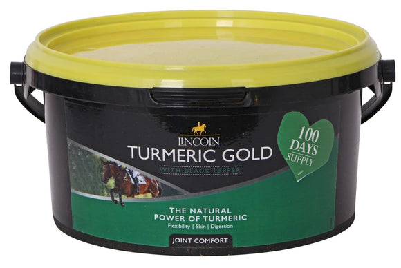 Lincoln Turmeric Gold 1kg Equine Health Supplements