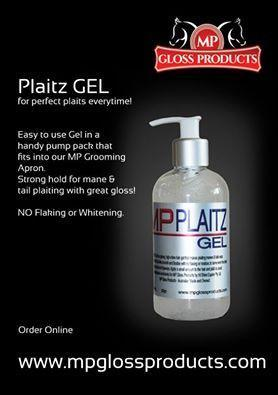 MP Plaitz Gel 250ml Grooming