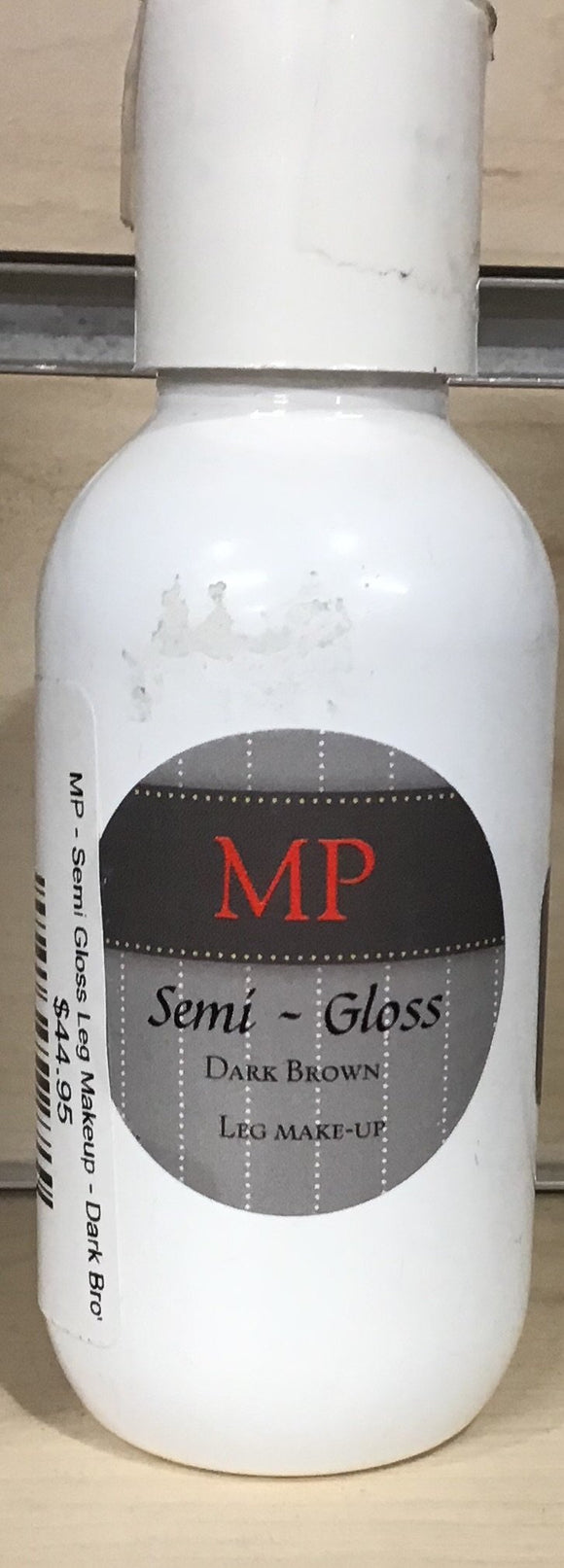 MP - Semi Gloss Leg Makeup - Dark Brown Grooming