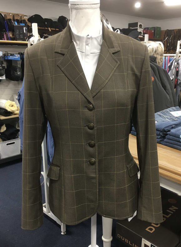 Moores show jacket - Hunter Plaid Competition Wear