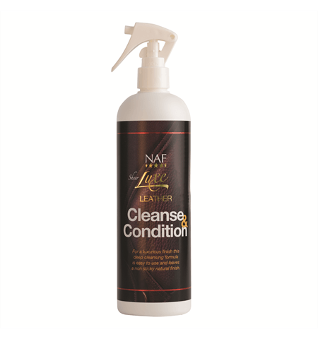 NAF Sheer Luxe Leather Cleanse & Condition 500ml Leather Care
