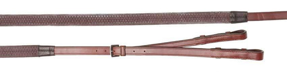Oregon Rubber Grip Divide Reins Reins