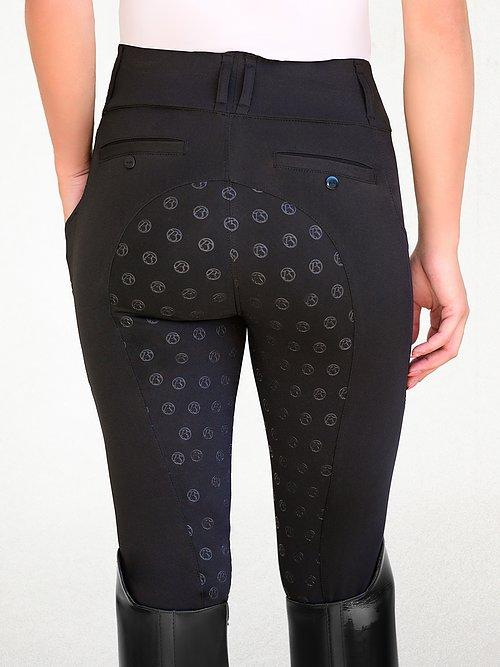 PS of Sweden - Breggings Mathilde Onyx Black Breeches/Tights/Jodhpurs