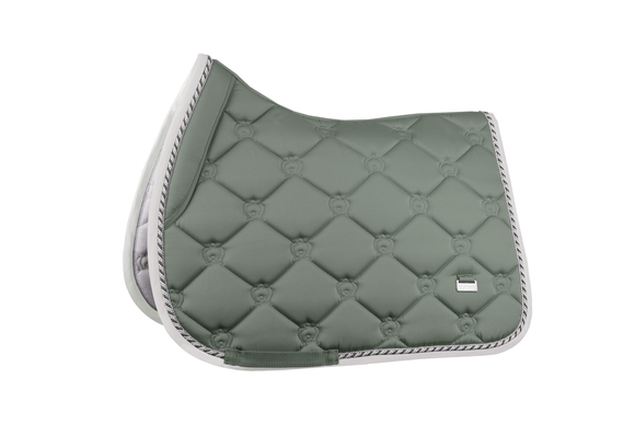 PS of Sweden Jump Saddle Pad - Sage Saddle Blankets & Halfpads/Correction Pads
