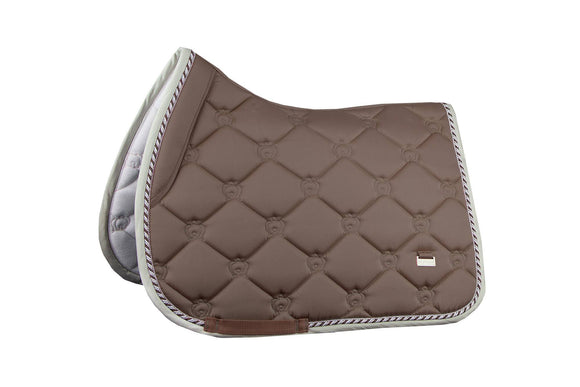 PS of Sweden Jump Saddle Pad - Walnut Saddle Blankets & Halfpads/Correction Pads