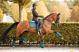 PS of Sweden Monogram Dressage Square, Jade Saddle Blankets & Halfpads/Correction Pads