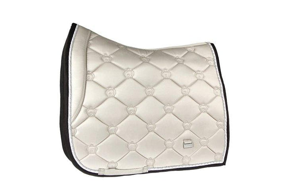 PS of Sweden - Saddle Pad Monogram Prosecco Dressage Saddle Blankets & Halfpads/Correction Pads
