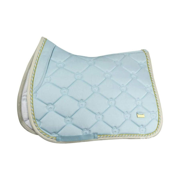 PS of Sweden 'Sky Blue' Jump Saddle Pad Saddle Blankets & Halfpads/Correction Pads