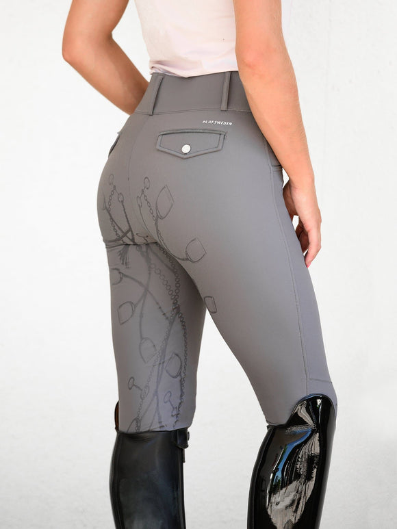 PS of Sweden Zoe Breech - Charcoal Breeches/Tights/Jodhpurs