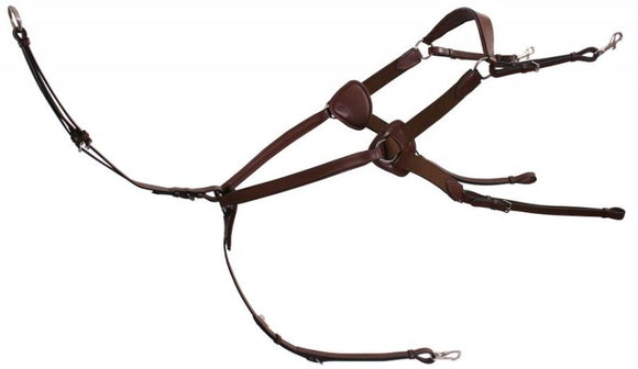 Platinum 5 Point Expanding Breastplate Training Aids - Breastplates, Martingales, Running Reins etc.