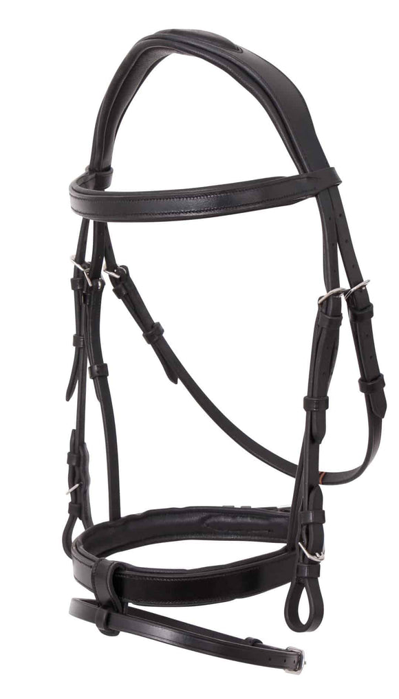 Platinum Anatomical Flat Padded Bridle Bridles