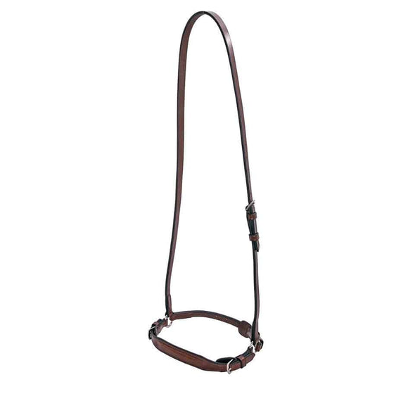 Platinum Raised Drop Noseband Only Bridle Accessories