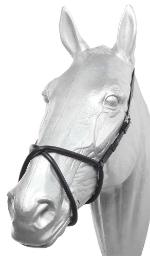 Racing Noseband Figure 8 - Black Racing