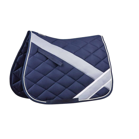 Roma Diamond Quilt All Purpose Saddle Pad Saddle Blankets & Halfpads/Correction Pads