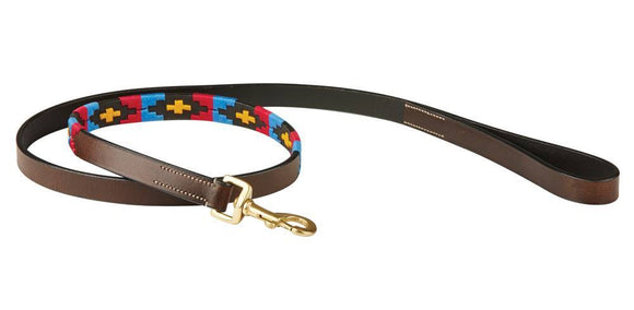 Weatherbeeta Polo Leather Dog Lead Dog Collars and Leads