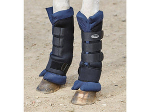 Weatherbeeta Stable Boot Wraps Black/Navy Horse Boots and Bandages
